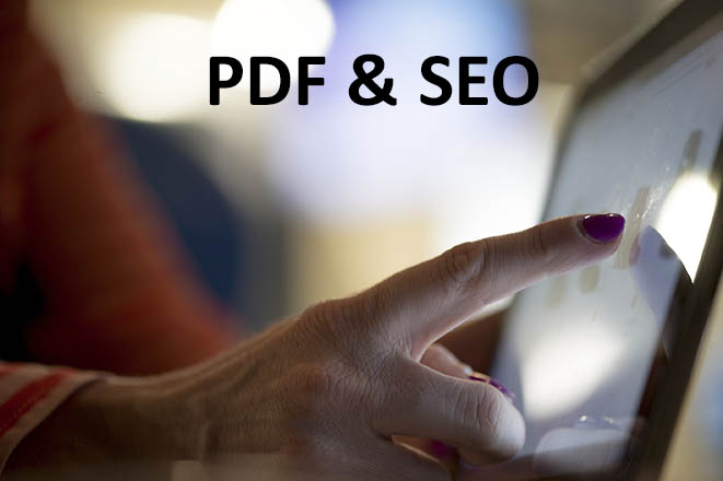 PDFs and SEO - some thoughts and pointers