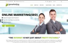 the new JG Marketing services home page