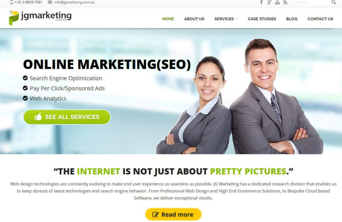 Welcome to the new JG Marketing Services website